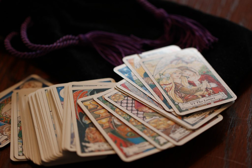 taro kortų kaladė - pirmoji taro kaladė